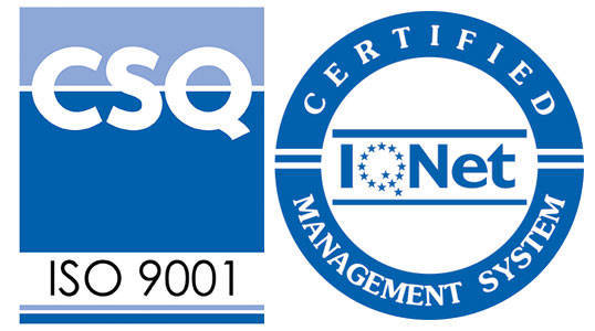 ISO 9001 Certificato Qualità SCQ
